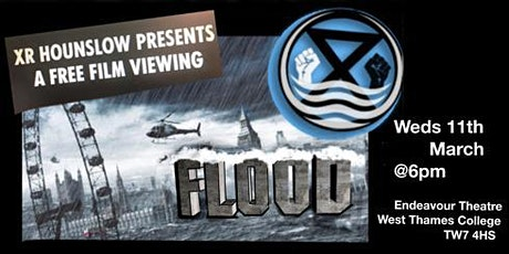 Action packed film FLOOD followed by Q&As at XR Hounslow's FREE Movie Night tickets
