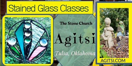 Open Work Shop Stained Glass projects $25/ 2 or$45/ 4 hr project available tickets