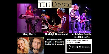 Tin Drum Presents: The 'Tin Family Band' Night tickets