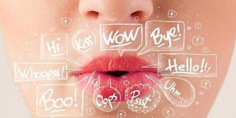 Pronunciation Workshop for all levels. Feb 17th-feb 22th entradas