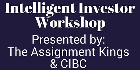 Intelligent Investor Real Estate Workshop tickets