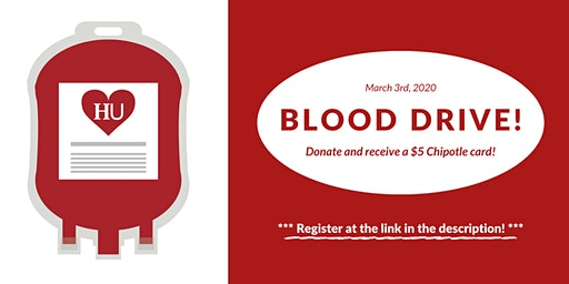 Blood Drive at Herzing University (Register at Link!)