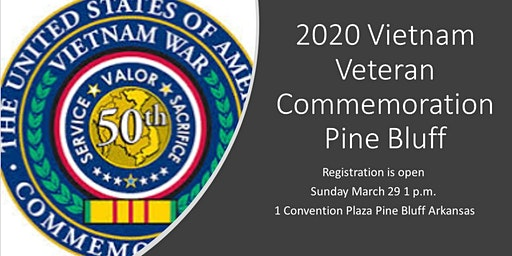2020 THE UNITED STATES OF AMERICA VIETNAM WAR COMMEMORATION PINE BLUFF
