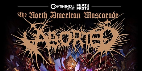 Aborted @ Holy Diver tickets