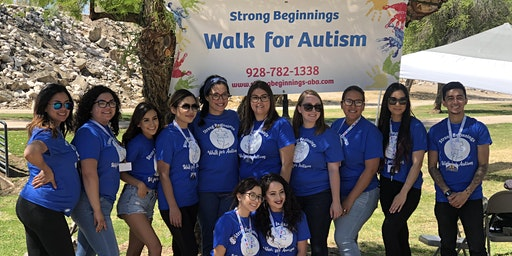 Strong Beginnings Walk For Autism 2020!