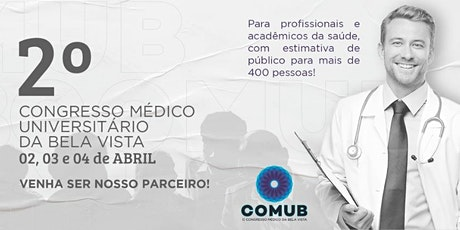 II Congresso Médico Universitário da Bela Vista - ingressos