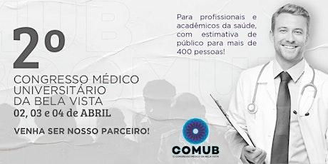 II Congresso Médico Universitário da Bela Vista - EVENTO ADIADO ingressos