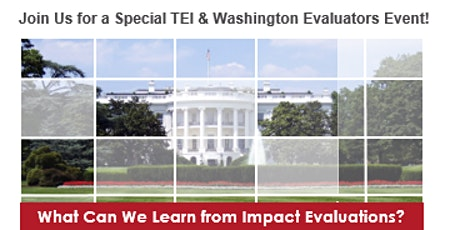 What Can We Learn from Impact Evaluation? tickets