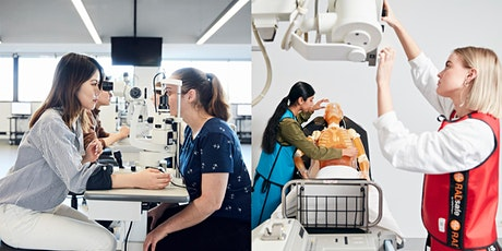 Medical imaging and optometry - course information session tickets