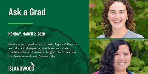 Ask an IslandWood Grad: Webinar on the EEC Graduate Program Experience