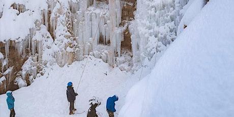 Intro To Ice Climbing Class & Gear Rental tickets