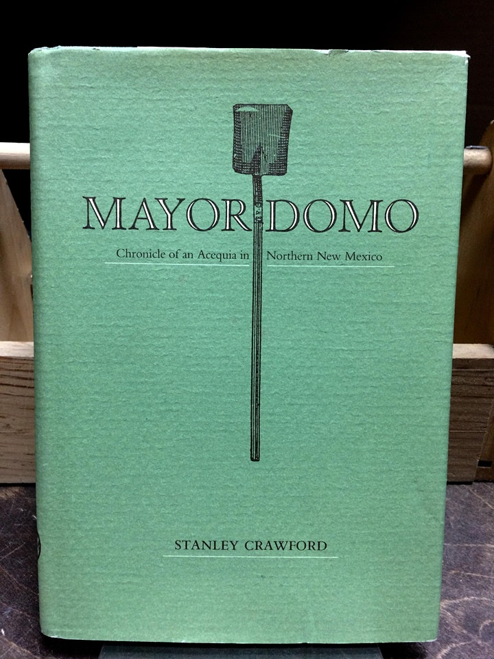 Food & Land Book Club discusses Stanley Crawford's Mayordomo! image