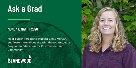 Ask an IslandWood Grad: Webinar on the EEC Graduate Program Experience bilhetes
