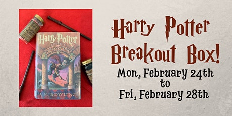 Harry Potter Breakout Box! tickets