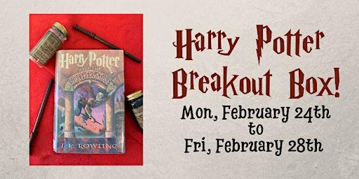 Harry Potter Breakout Box!