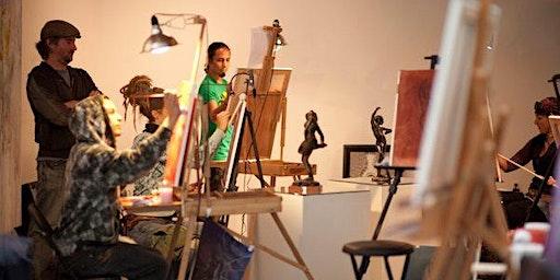 Sip - N - See Art Therapy Workshop