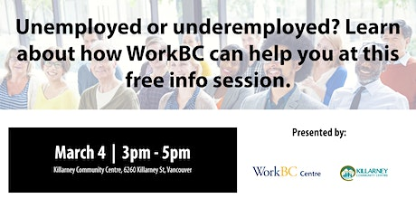 What is WorkBC? A Free Info Session tickets