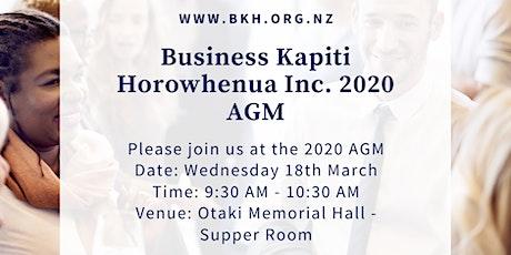 BKH 2020 AGM tickets