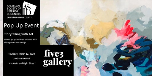 ASID OC Pop Up Event at Five 3 Gallery