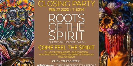 Roots of the Spirit Closing Reception tickets