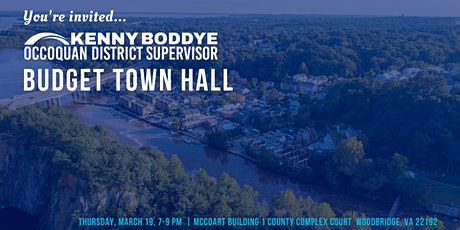 Town Hall: FY 2021 Proposed Budget & Critical Services tickets