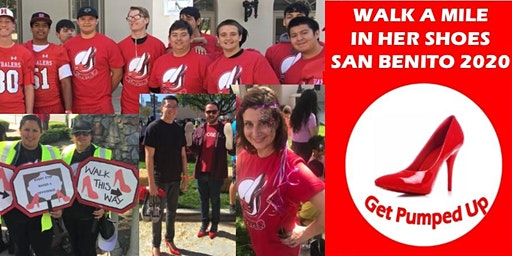 San Benito County Walk A Mile in Her Shoes