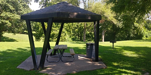 Park Shelter at VA Park - Dates in February and March