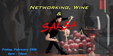 Networking, Wine & SALSA! biglietti