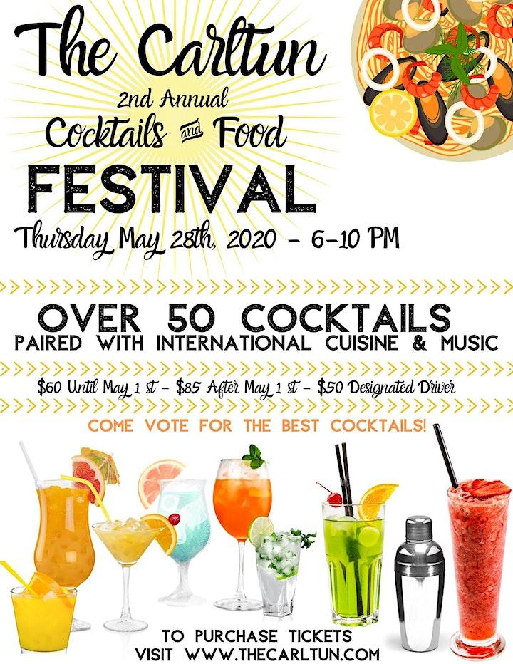 The Carltun Cocktails & Food Festival image