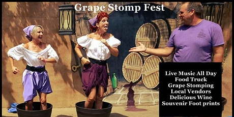 2020 Grape Stomp Fest ~ Paradise Hills tickets