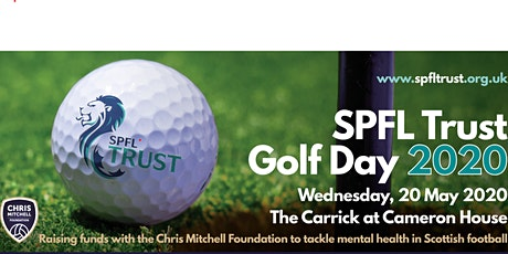 Scottish Professional Football League Trust Golf Day 2020 tickets
