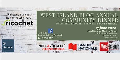 West Island Blog Community Dinner tickets