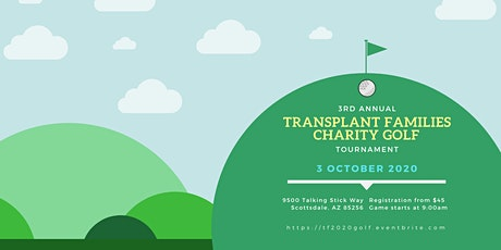 Transplant Families Annual Golf Tournament 2020 tickets