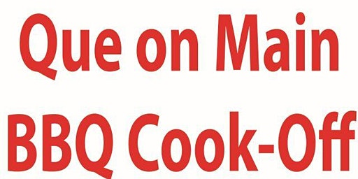 3rd Annual - Que On Main - Salado Rotary BBQ Cook-off