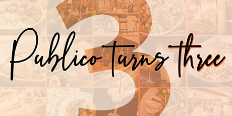 Publico Turns 3 Years Old! tickets
