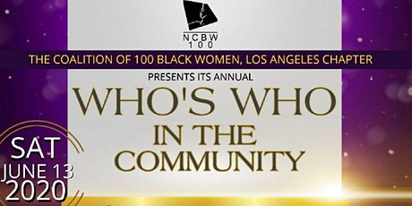 Coaliton of 100 Black Women, Los Angeles Who's Who in the Community Brunch tickets