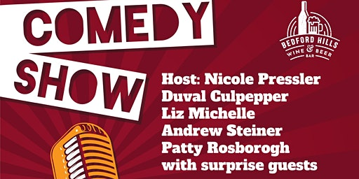 Free Comedy  Night | Nicole Pressler, Andrew Steiner...