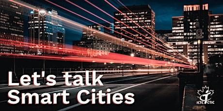 Let's talk Smart Cities tickets