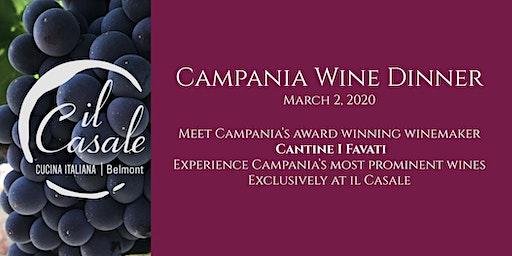 Campania Wine Dinner