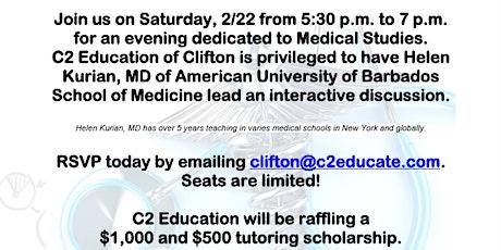 Medical Studies Seminar Saturday, Feb. 22 at 5:30 pm tickets