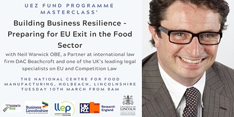 Building Business Resilience - EU Exit  for Food Sector Businesses tickets
