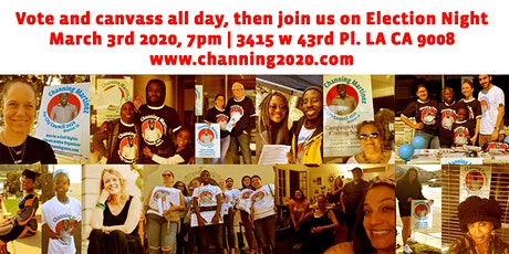 Join Channing Martinez on Election Night tickets