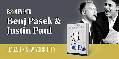 Benj Pasek and Justin Paul Discuss Their New Book, You Will Be Found tickets