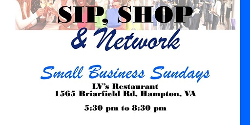 FREE Sip, Shop & Network - Support Small Business Network