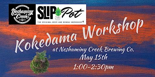Kokedama Workshop at Neshaminy Creek