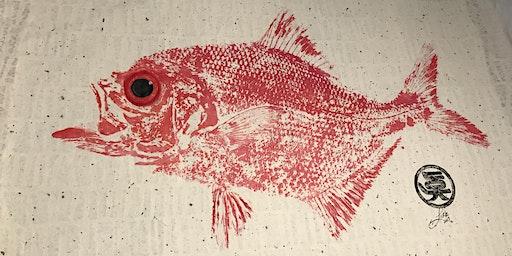 OluKai Gyotaku at Whalers Village