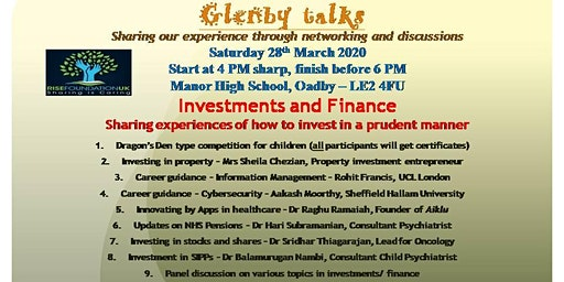 Glenby Talks - Investments and Finance