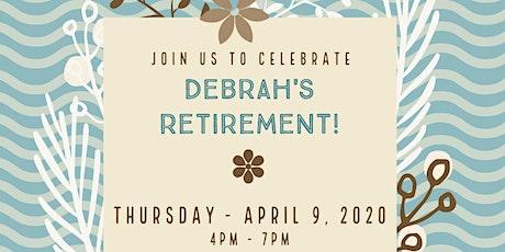 Debrah Marriot Retirement Celebration tickets