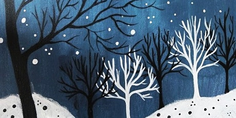Winter Landscape Painting Adults Class tickets