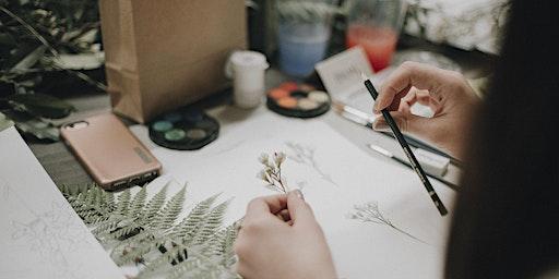 2.5 hr @alittlebitebygrace Watercolour Floral Workshop for Beginners